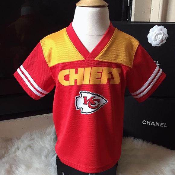 quality design 29577 f9fc0 NFL Kansas City CHIEFS Jersey Shirt 4T